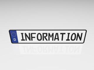 Kennzeichen - Information