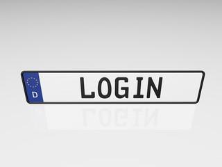 Kennzeichen - Login