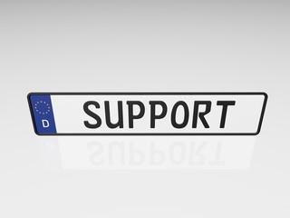 Kennzeichen - Support