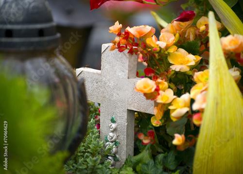 Foto op Plexiglas Begraafplaats Friedhof
