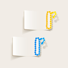 realistic design element: rosary