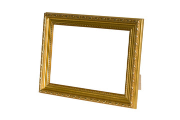 Gold photoframe