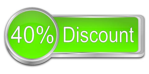 40% Discount Button