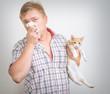 allergic to animals