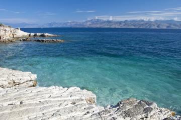 Strand in Korfu