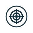 target circle background icon.