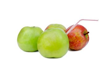 apple with a tubule