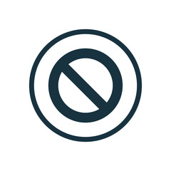 stop circle background icon.