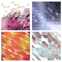 vector set of abstract backgrounds