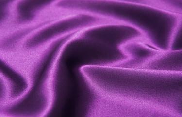 rippled purple satin fabric