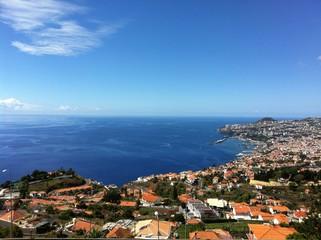 Bay of Funchal city