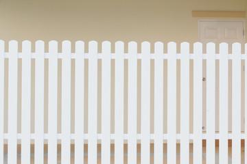 wood white fence