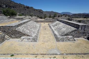 Zapotec ballgame court in Yagul