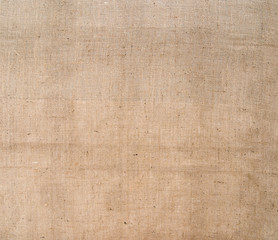 Hessian, burlap fabric rustic background. Sacking.