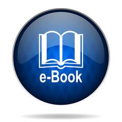 ebook internet blue icon