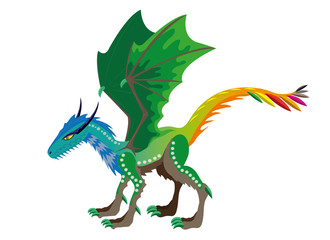 Dragon of seasons