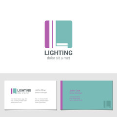 Corporate Logo L Letter company vector design