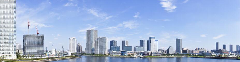 晴海大橋からの風景