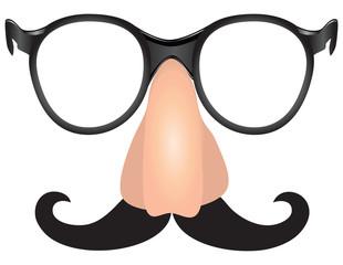Mustache scoundrel
