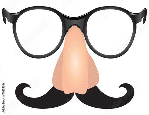 Mustache scoundrel - 70475086