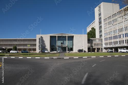 Leinwandbild Motiv Prime Minister Office, Windhoek, Namibia