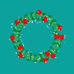クリスマスリース 輪
