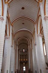 Nef de la Collégiale Saint-Pierre de Chauvigny