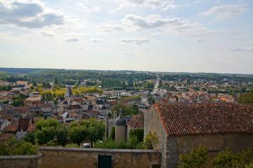 Chauvigny depuis la cité médiévale