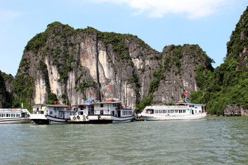 Halong bay in Vietnum