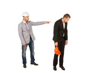 Head Engineer Reprimand Subordinate