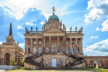 Historical buildings of University of Potsdam
