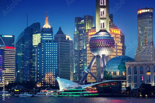 Fotobehang China Shanghai at night, China