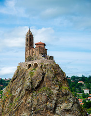 Saint Michel d'Aiguilhe au puy en velay