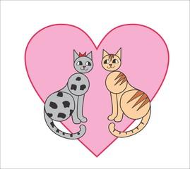 Коты. Любовь