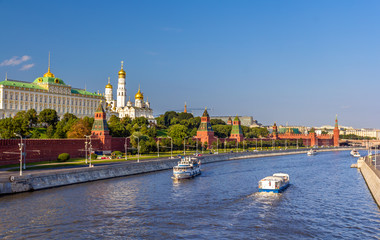 View of Moscow Kremlin - Russia