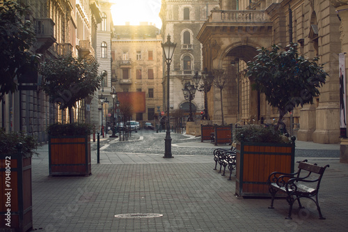 Leinwandbild Motiv streets