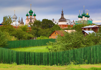 Rostov the Great - ancient small Russian town