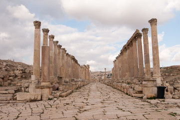 Cardo Maximus of Jerash, Jordan
