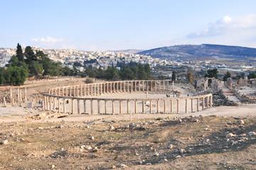 Oval Forum - Jerash, Jordan