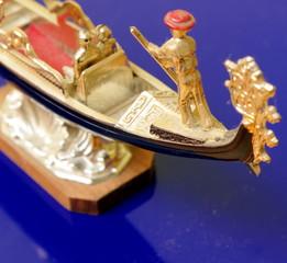 gondola in miniatura