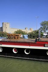 The marina of Aigues-Mortes