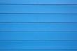 canvas print picture - Blaue Wand