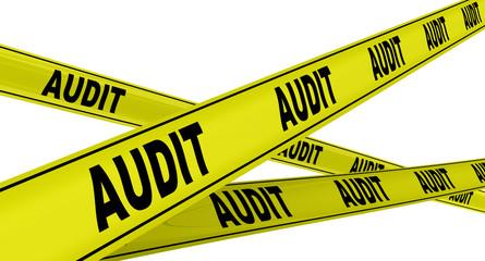 Аудит (audit). Желтая оградительная лента