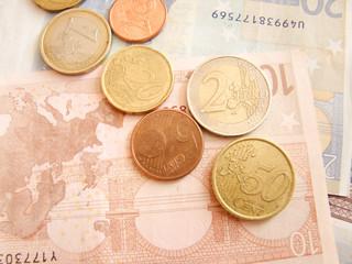 pièces billet euro