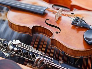 Violin and clarinet
