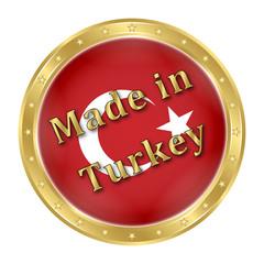 Türk Bayrağı - Rozet - 4