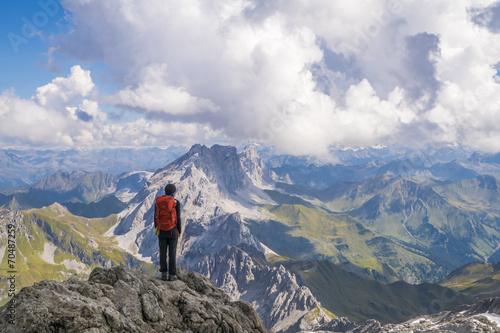 Wandern im Hochgebirge © Netzer Johannes