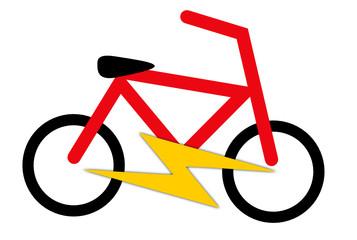 Logo vélo à assistance électrique