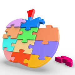 Puzzle Apple