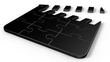 Puzzle Movie Clapper